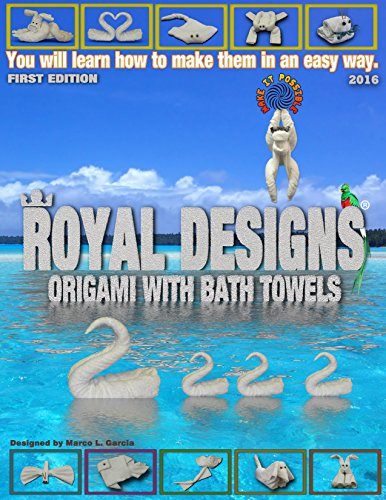 (royal designs: Origami with bath towels)
