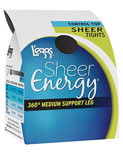 L'eggs Sheer Energy Control Top Sheer Tight by L'eggs