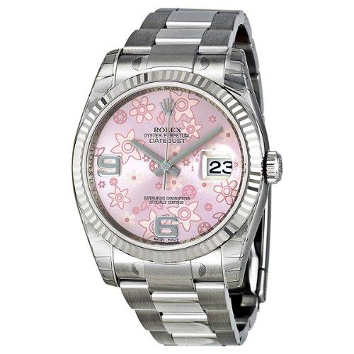 Rolex 116234 - Reloj de pulsera mujer, acero inoxidable