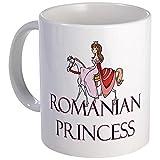 CafePress %2D Romanian Princess Mug %2D