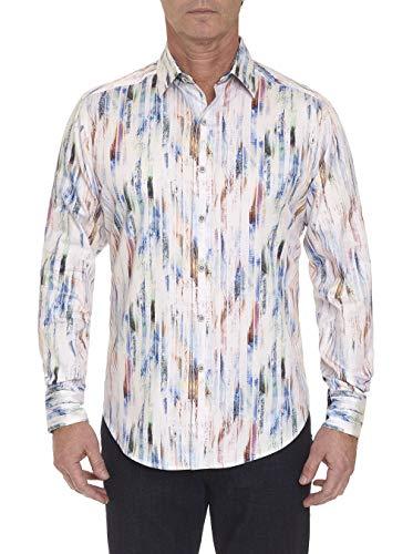 Robert Graham Boxwood Long Sleeve Printed Shirt Classic Fit White XLarge from Robert Graham