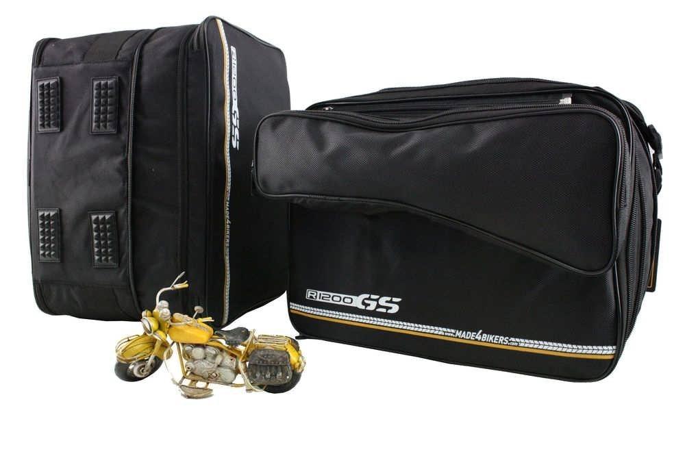Set di valigie da moto con tasche interne e tasca esterna removibile CHB-IuV