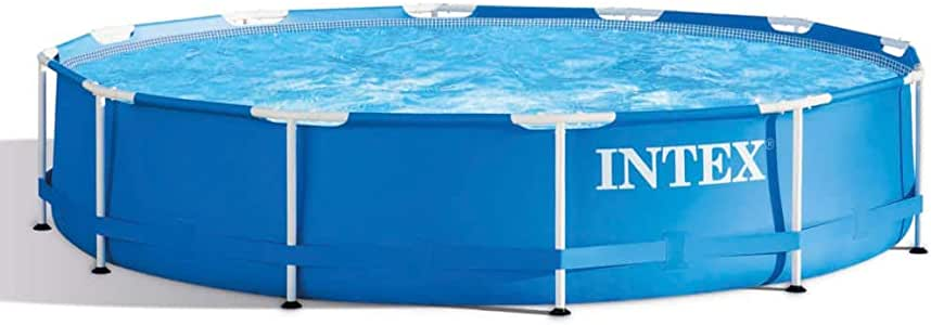 Intex 28210NP - Marco de metal para piscina (366 x 76 cm): Amazon ...