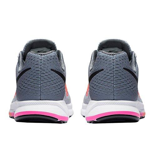 Nike Damen W Air Zoom Pegasus 33 (w) Laufschuhe Plateado (pr Pltnm / Blk-cl Gry-pnk Blst)