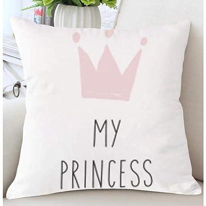 MATBC Cojín Love Print Pillow Decoración De La Habitación ...