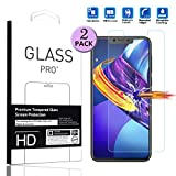 LEMOUTON Compatible with Cubot P20 Tempered Glass Screen Protector - [2 Pack] Smartphone Protective Film for Cubot P20 (6.18') 2018