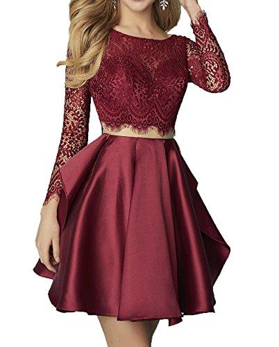 2 Piece Short Dress Cocktail Dress - 6