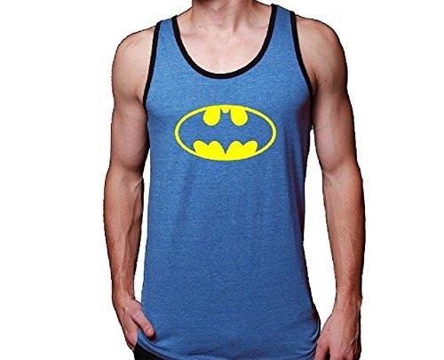 Batman+tank+top Products : Mens Blue Tank Top Batman Adult Jerseys