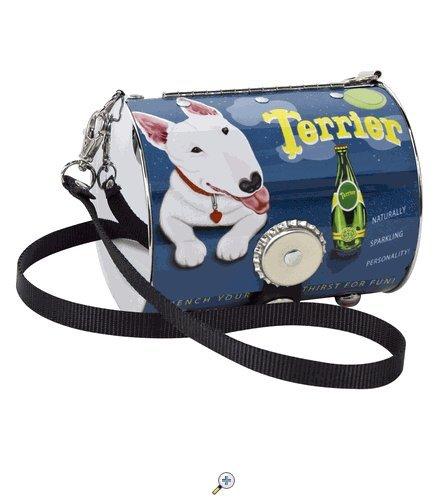 PopTank Handbag - Pop Culture Made Fabulous - Bull Terrier - Littlearth Petite Purse