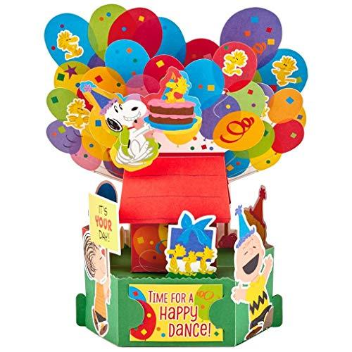 Hallmark Peanuts Happy Dance Pop Up Birthday