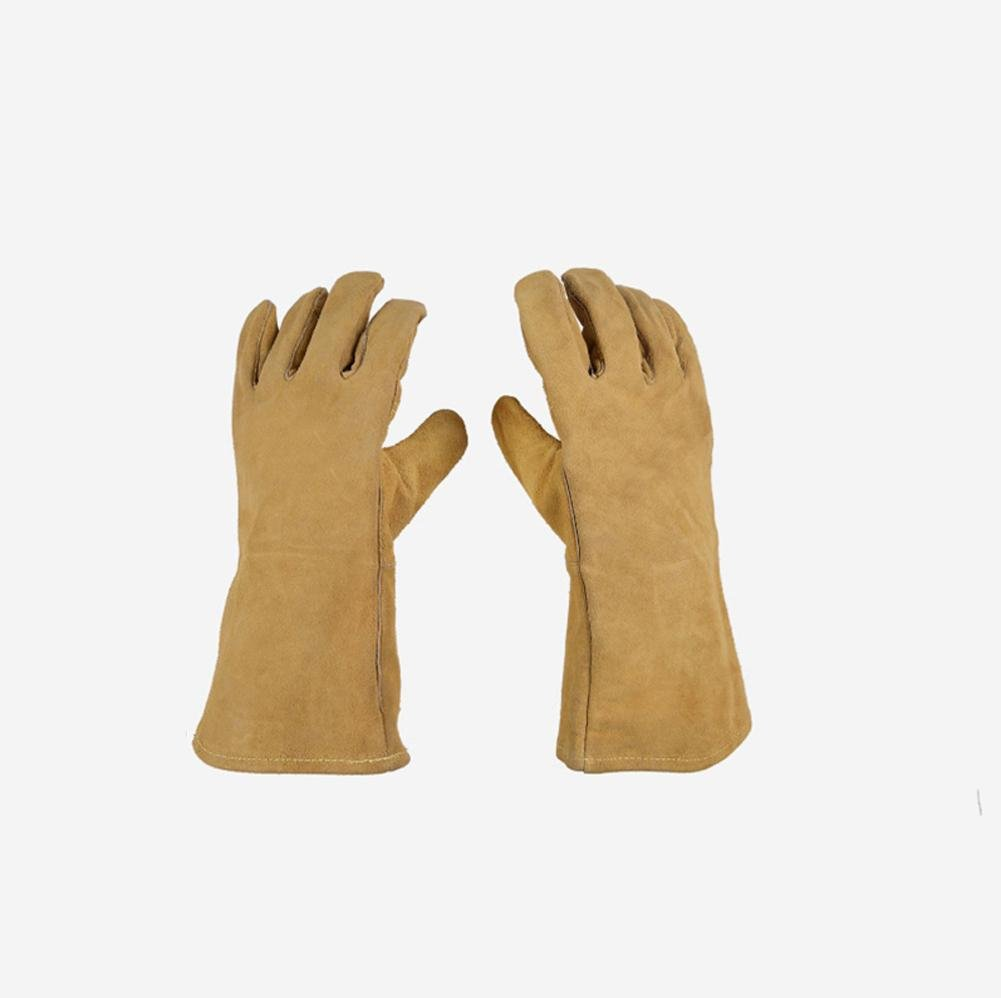 General high temperature 250 degrees heat insulation cutting welding gloves welding fire retardant soft and comfortable labor protection products by LIXIANG (Image #3)
