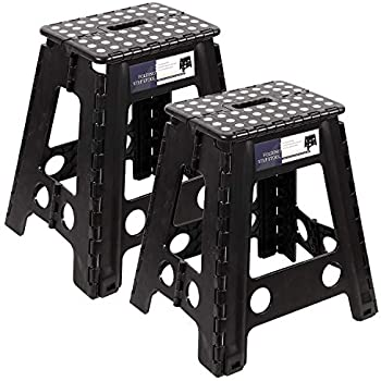 Surprising Amazon Com Acko 16 Inches Super Strong Folding Step Stool Caraccident5 Cool Chair Designs And Ideas Caraccident5Info