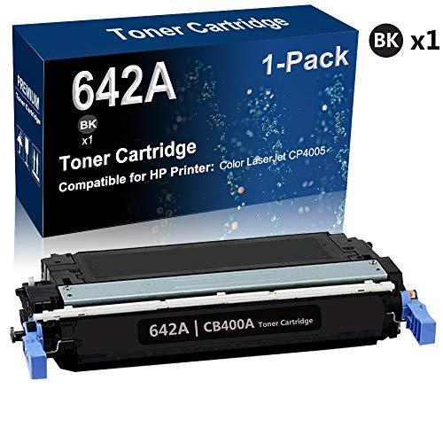 1-Pack (Black) Compatible Color Laserjet CP4005 Series Printer Toner Cartridge covid 19 (Color Laserjet Cp4005 Series coronavirus)