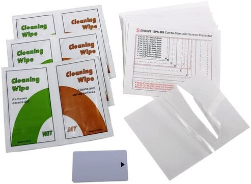 12 Pack Sensei Cut-to-Size Soft LCD Screen Protector 2 Pack