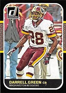 Darrell Green football card (Washington Redskins) 2016 Donruss #11 Retro Insert