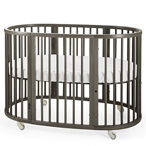 Stokke Toddler Crib (Stokke Sleepi Bed, Hazy Grey)
