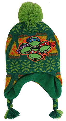 Teenage Mutant Ninja Turtles Hat (Teenage Mutant Ninja TMNT Boys Scandinavian Hat - Toddler [4013])