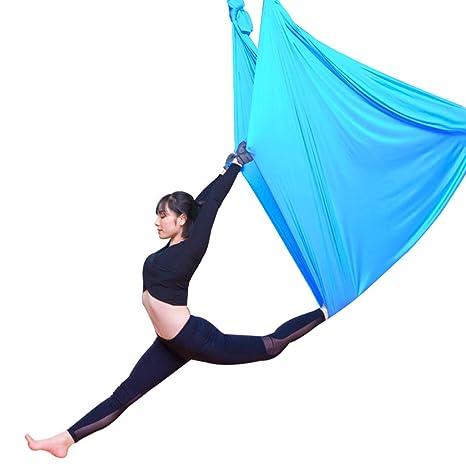 Xuetaimeigu Aéreo Yoga Hamaca Hogar Aire Interior Seda Yoga ...