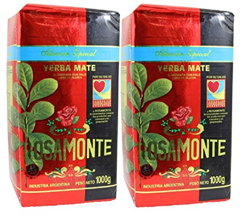 Yerba Mate Rosamonte Special Selection 2 Pack (4.4lbs - 2 Kilos)