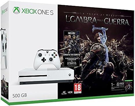 MICROSOFT - XBOX ONE S 500 GB + LOMBRA DELLA GUERRA: Amazon.es ...