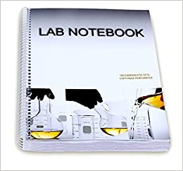 Barbakam lab notebook 100 carbonless pages spiral bound copy page turn on 1 click ordering for this browser fandeluxe Images