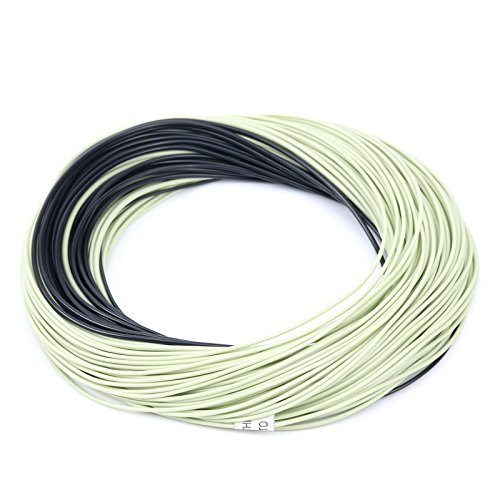 M MAXIMUMCATCH Maxcatch Sinking Tip Fly Line for Fly Fishing Weight Forward Line, 3ips/6ips, 4/5/6/7/8 F/S (Lemon Green/Black, 3ips, WF-5F/S)