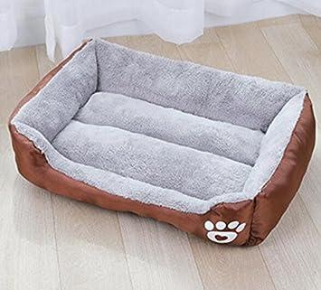 Visic Práctica Manta para Mascotas Perro de la Cama del Perro Suministros de Mascotas para Perros M-60 * 45 * 14cm: Amazon.es: Productos para mascotas