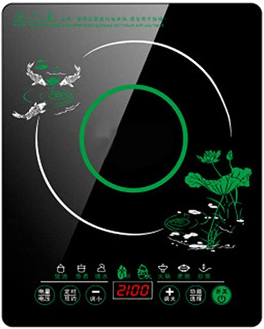 DAETNG Placa de inducción portátil de 2100 W, Placa de Vidrio ...