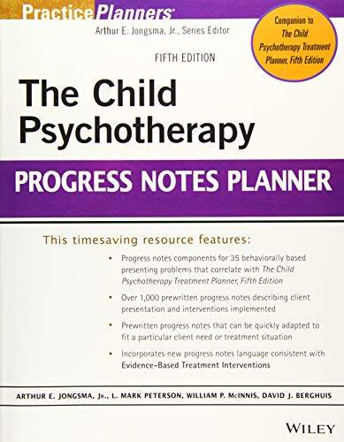 The Child Psychotherapy Progress Notes Planner - Adult Note