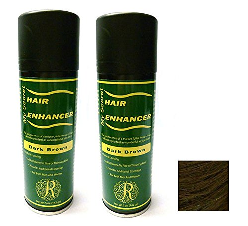 My Secret Hair Enhancer Dark Brown 5 oz. (2 Pack) by My Secret
