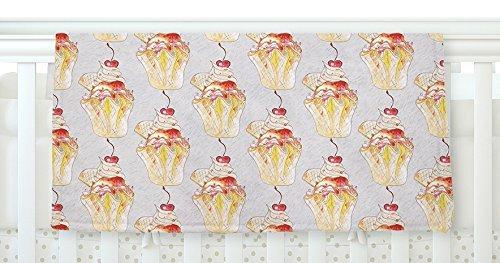 KESS InHouse Louise Cake Cupcake Fleece Baby Blanket 40 x 30 [並行輸入品]   B077ZKCF74