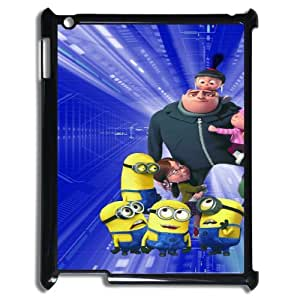Despicable Me HILDA5094838 Phone Back Case Customized Art Print Design Hard Shell Protection Ipad2,3,4