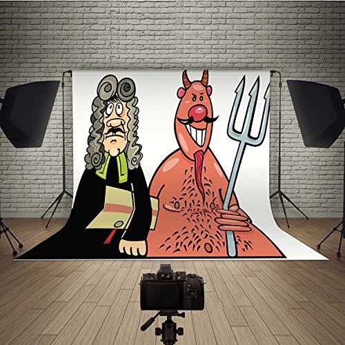 Devils Advocate Backdrop,179732 Video and Televison,Flannelette :6.5ft x 10ft