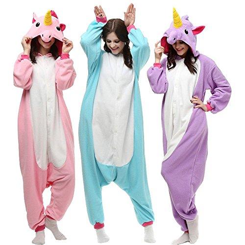 Kenmont Unisexo Adulto Pijama Traje Cosplay Animal Pyjamas Unicornio: Amazon.es: Ropa y accesorios