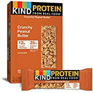 KIND Protein Bars, White Chocolate Cinnamon Almond, Gluten Free, 12g Protein, (12 Count of 1.76 oz Bars) 21.12 oz