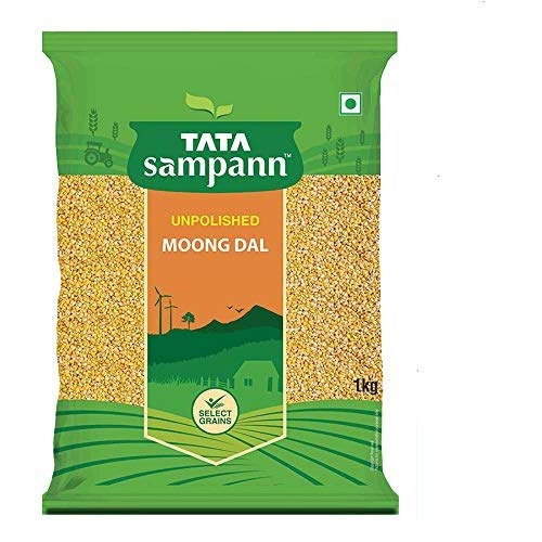 Tata Sampann Moong Dal Split, 1kg