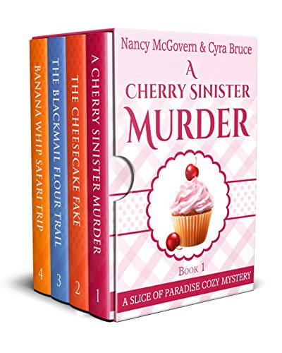 A Slice of Paradise Cozy Mystery BOX SET, Books 1-4: A Culinary Cozy Mystery Series With Delicious Recipes by Nancy McGovern
