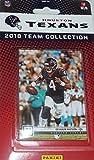 Houston Texans 2018 Panini Factory Sealed NFL Football Complete Mint 10 Card Team Set with J.J. Watt, Jadeveon Clowney, DeAndre Hopkins, Deshaun Watson plus
