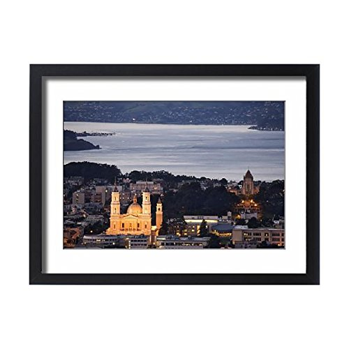 Media Storehouse Framed 24x18 Print of USA, California, San Francisco (8129393) by Media Storehouse