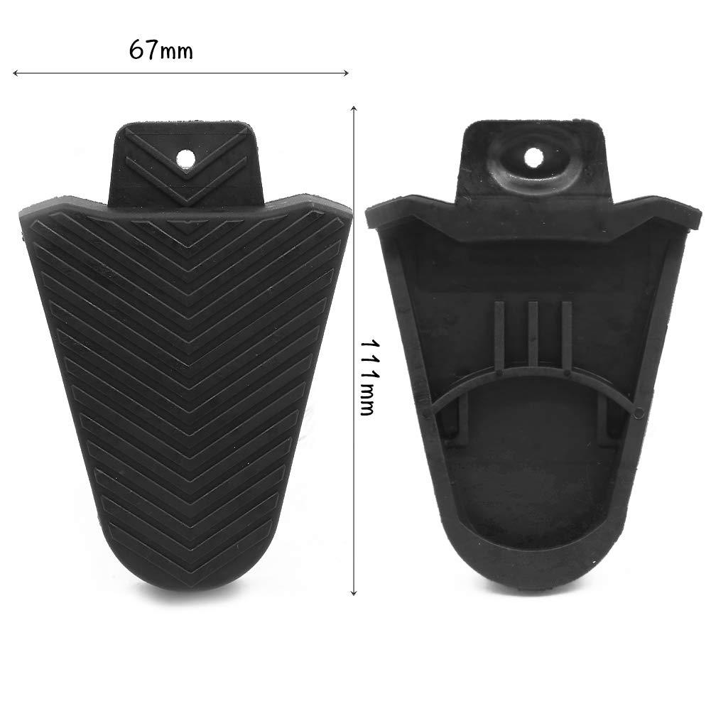 1 par Shimano SPD-SL Cubierta de Cala Cubiertas de protecci/ón Accesorios para Partes de Calzado Boerni Cubierta de calas