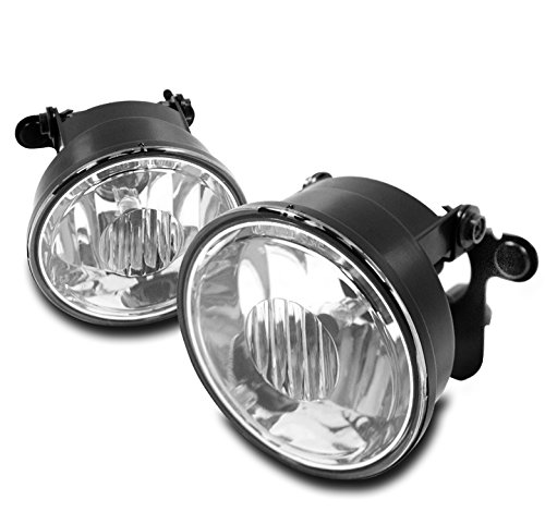 (ZMAUTOPARTS 2004-2006 Chevy Suburban 1500 Z71 / 2003-2006 Tahoe Z71 Bumper Driving Fog Lights Chrome )