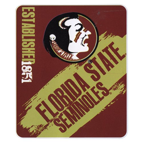 NCAA Collegiate School Logo Fleece Blanket (Florida State Seminoles, 50
