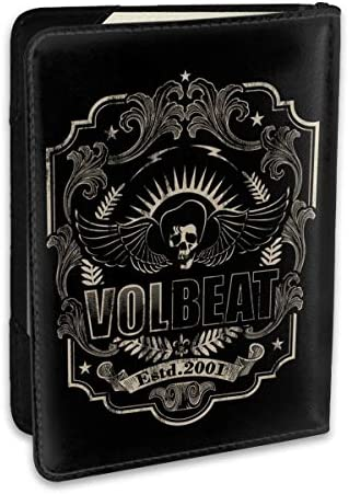 Volbeat パスポートケース メンズ 男女兼用 パスポートカバー パスポート用カバー パスポートバッグ ポーチ 6.5インチ高級PUレザー 三つのカードケース 家族 国内海外旅行用品 多機能