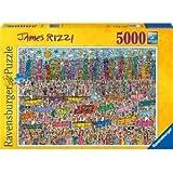 ジェームス Rizzi: シティ 5000 ピース パズル