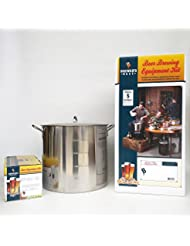Brewer S Best Deluxe Equipment Kit W Better Bottle With Dunkelweizen Beer Ingredient Kit And 42 Qt Stainless Steel Brew Kettle