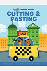 Cutting and Pasting (Flash Kids Preschool Activity Books) Paperback