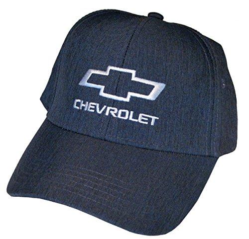 Gregs Automotive Chevrolet Bowtie Hat Cap Blue - Bundle with Driving Style Decal ()
