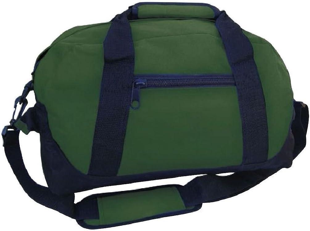 Sports Duffle Bags Two Tone 14 Inch School Travel Gym Locker Carry On Luggage