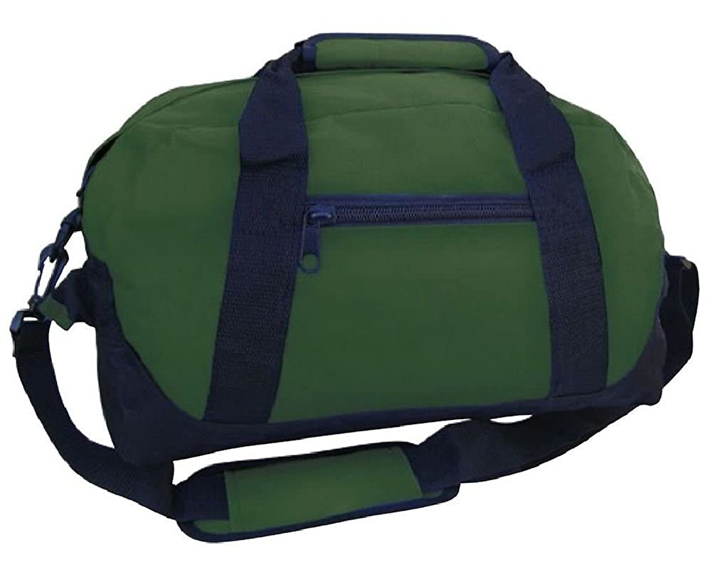 ff3f98de2c20 Amazon.com  Sports Duffle Bags Two Tone 14 Inch School Travel Gym Locker  Carry On Luggage  Clothing
