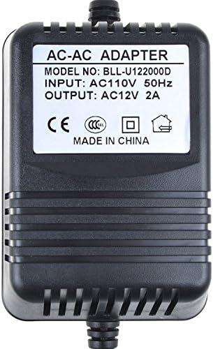 AC12V 1015001; Videonics MX-1 NTSC Digital Audio Video Mixer Power Supply PK-Power AC Adapter for The Basement Watchdog AC1201600-1 AC Adapter 12VAC